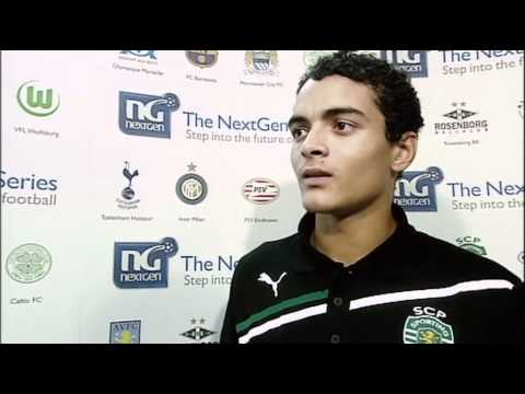 NextGen Series: Liverpool 0 - 3 Sporting Lisbon, Interviews