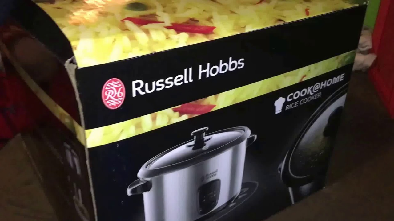 russell hobbs steamer instructions
