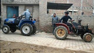 Sonalika vs Mitsubishi #TUGofWAR + our new tractor!