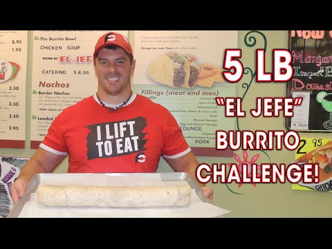 CHICAGO'S BIGGEST BURRITO EATING CHALLENGE!!