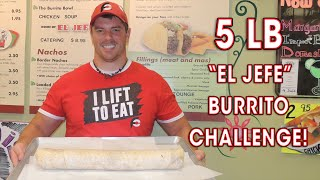 "Chicago's Biggest Burrito - Taco Village's 5lb ""el Jefe"" Eating Challenge!!"