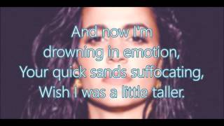 Kat Dahlia -  Walk On Water (Full Lyrics HD)