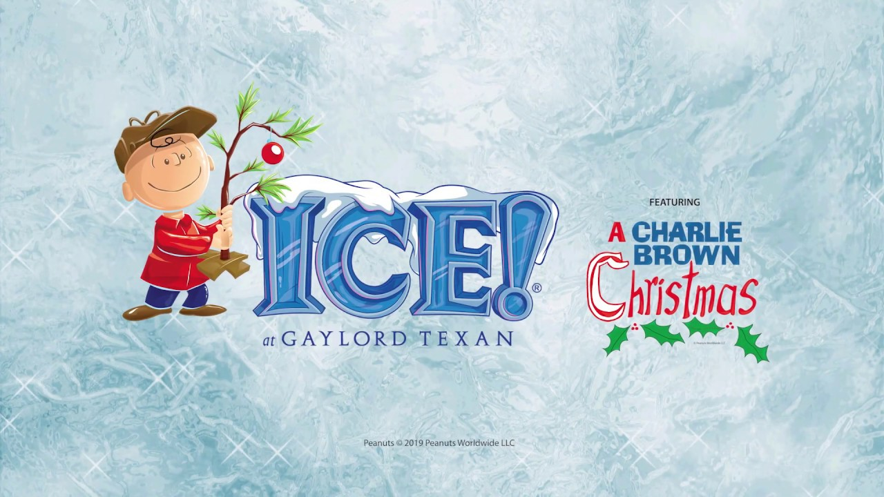 Gaylord Texan Christmas Ice 2020 ICE! at Gaylord Texan Featuring A Charlie Brown Christmas   YouTube