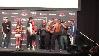 Ilir Latifi vs. Ryan Bader Weigh-in
