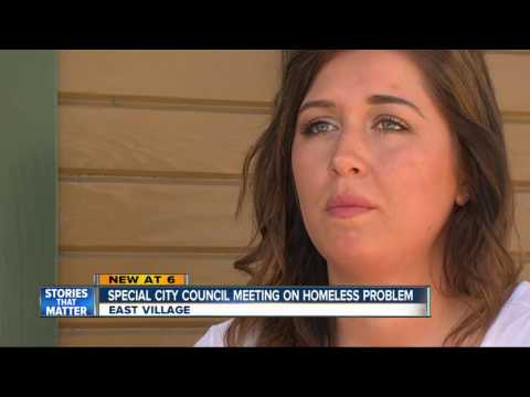 Special meeting to address city of San Diego's homeless problem