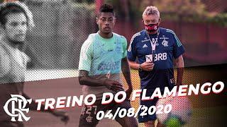 Treino do Flamengo - 04/08/2020