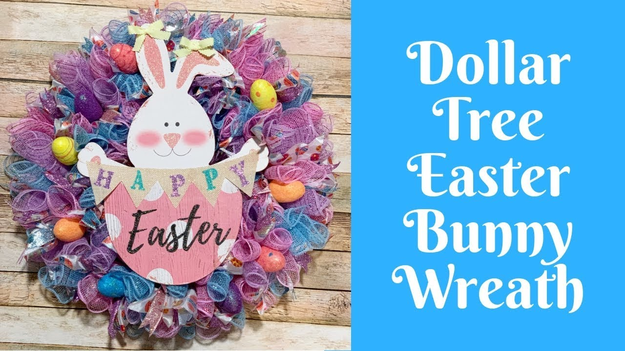 Dollar Tree Easter Crafts Dollar Tree Easter Bunny Deco