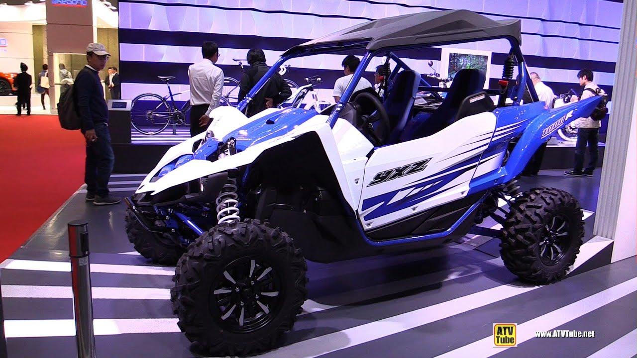 2016 yamaha yxz1000r sport atv walkaround 2015 tokyo motor show