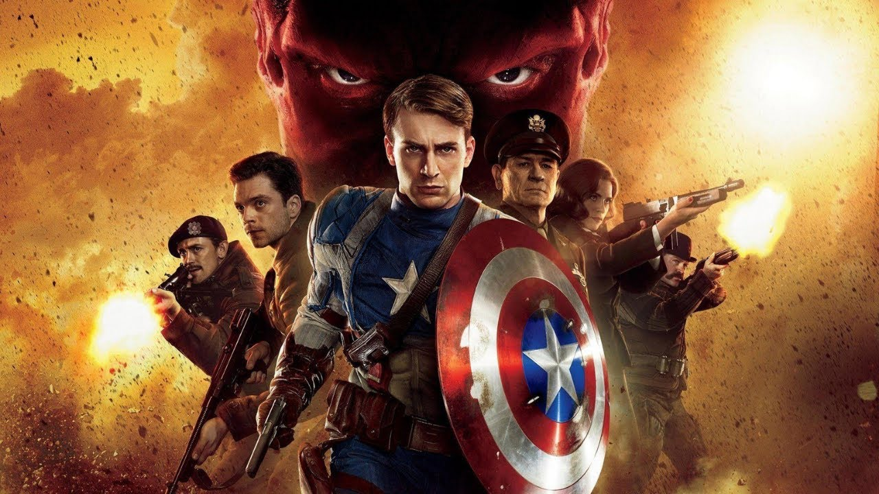 المنتقم الأول !.. ☝   ملخص فيلم - Captain America The First Avenger 🏍 -
