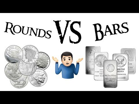 What is Better to Buy? Silver Rounds or Silver Bars