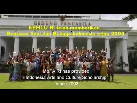 Indonesian Arts and Cultural Scholarship.