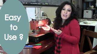 Industrial Sewing Machine Review  (Sailrite Heavy Duty) Renee Romeo