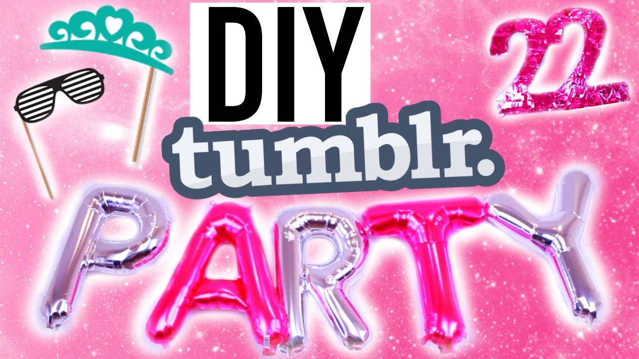 DIY Tumblr Summer Birthday Treats Decor More
