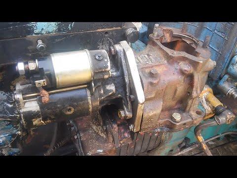 Изготовление переходной плиты на пусковой двигатель под стартер
