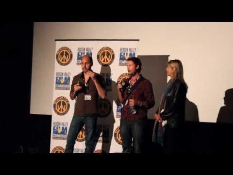Director Christian Johnston and Darren Mann in Woodstock Film Festival 2013
