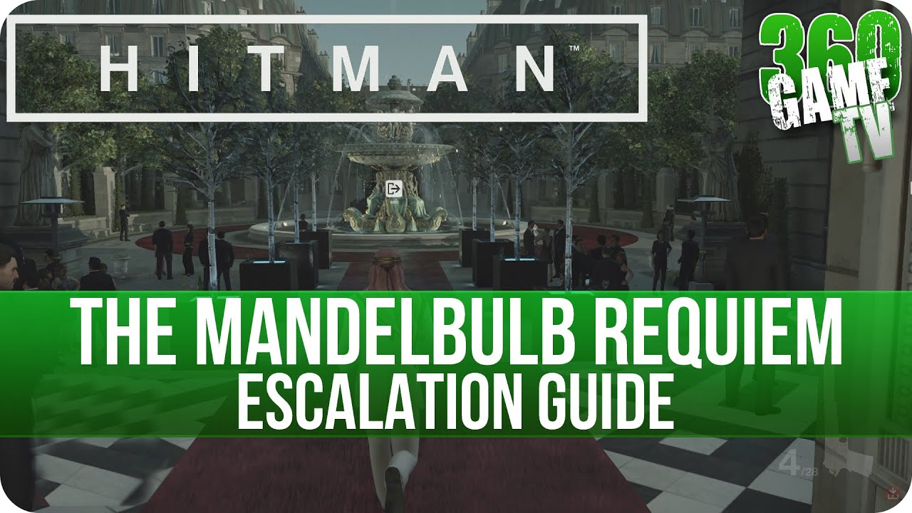 Hitman All Level 5 Escalations Video Guides