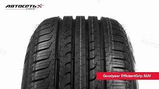 видео Шина Goodyear Efficientgrip SUV 225/60 R18 100H  (FP) в KOLOBOX Нижний Новгород