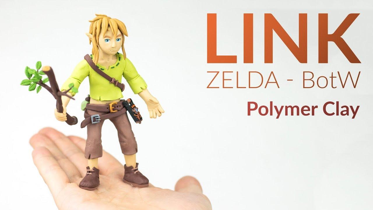 Link The Legend Of Zelda Botw Polymer Clay Tutorial