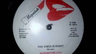 Barrington Levy - The Vibes Is Right Mp3