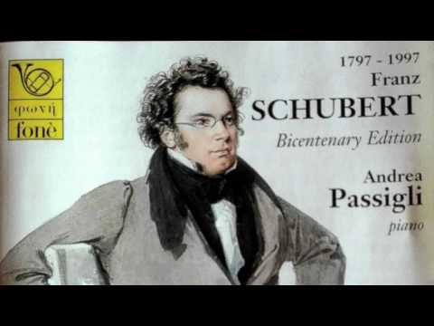 F. Schubert - Improvvisi op.90 D 899 - ANDREA PASSIGLI