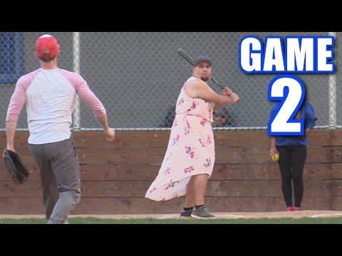 BETSY HITS FOUR HOME RUNS! | On-Season Softball League | Game 2