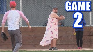 BETSY HITS FOUR HOME RUNS! | On-Season Softball League | Game 2 thumbnail