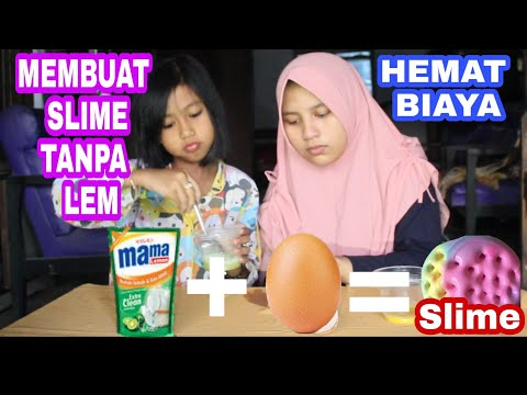 Cara Membuat Slime Dengan 3 Bahan Saja Cukup Mudah Dan Simple,,  😊😊.