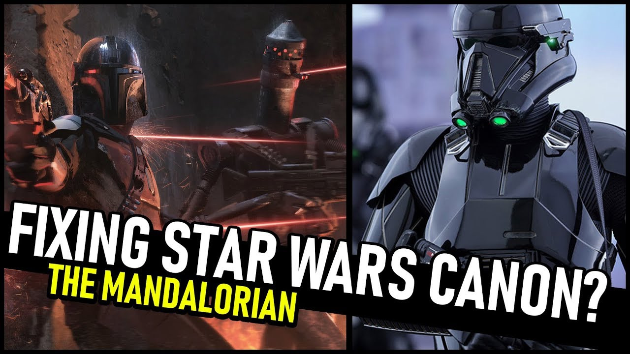 'The Mandalorian' finally fixes one of the worst things about Star Wars