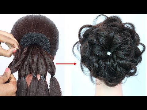 messy-bun-trick-||-new-hairstyle-||-hairstyle-for-gown-||-hairstyles-for-girls-||-prom-hairstyles