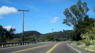 San Marcos Pass California - Scenic Mountain Drive