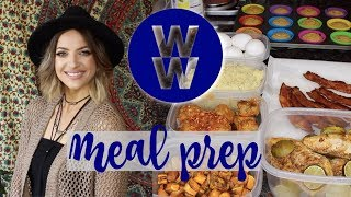 WW Freestyle Buffet Style Meal Prep #4