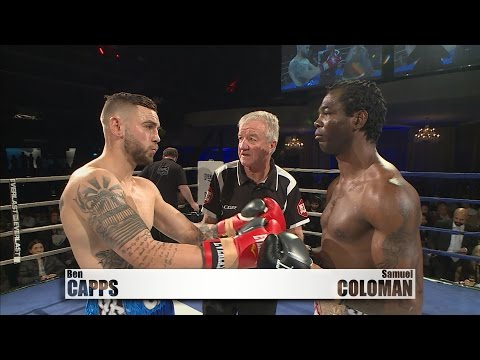 BEN CAPPS vs SAMUEL COLOMAN - TV Ringside 1/07/16