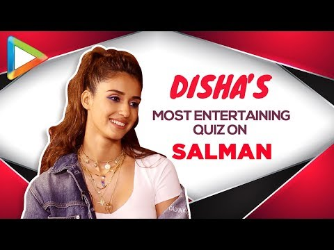 WOW: Disha Patani's ROCKING Salman Khan Quiz Proves  She's his BIGGEST FAN   BHARAT Mp3