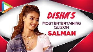 WOW: Disha Patani's ROCKING Salman Khan Quiz Proves She's his BIGGEST FAN   BHARAT