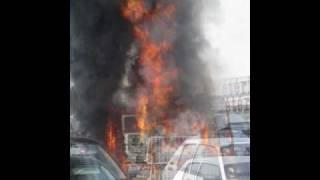 Incendie Sur Le Parking Cora Moulins Les Metz Le 26 Juin 2010 Youtube