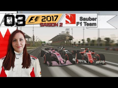 F1 2017 - CARRIERE - SANDWICH ! (S2 #3)