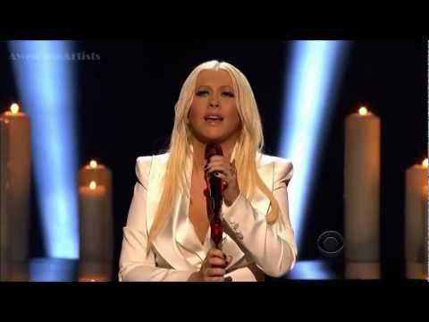 Christina Aguilera Blank Page Live HD PCA 2013 + Premio
