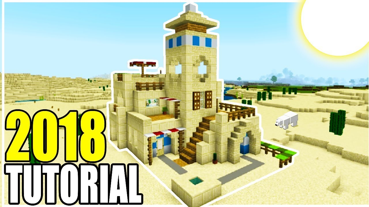 Minecraft Tutorial: How To Make The Ultimate Desert House 8 Tutorial