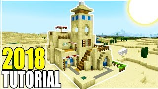 Minecraft Tutorial: How To Make The Ultimate Desert House 2018 Tutorial