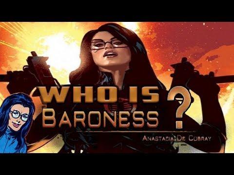 History And Origin Of GI Joe's The Baroness!