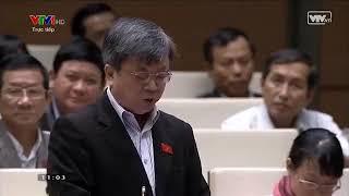 Đại biểu quốc hội Trương Trọng Nghĩa phát biểu - 01/04/2016