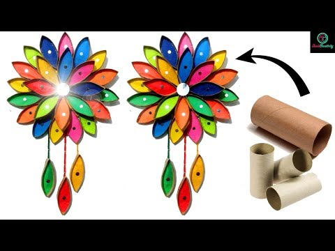 How to make toilet paper roll crafts | Toilet Paper Roll Wall hanging | Handmade | Taniscreativity