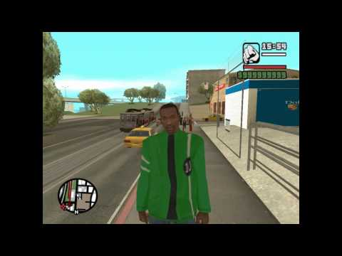 GTA San Andreas mod  - Ben 10 alien force clothes