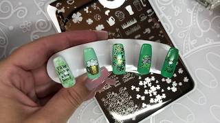 Layered Stamping for St Patrick's Day!