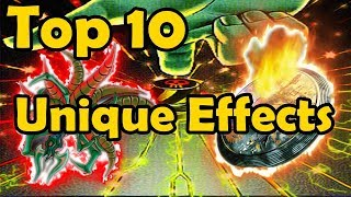 Top 10 Cards With Unique Effects in YuGiOh