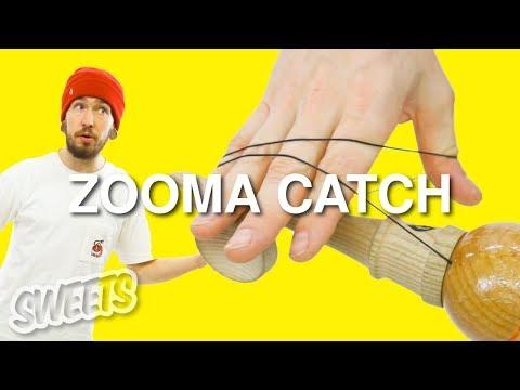 How to ZOOMA CATCH ft. Rod Dama - Kendama Trick Tutorial - Sweets Kendamas thumbnail