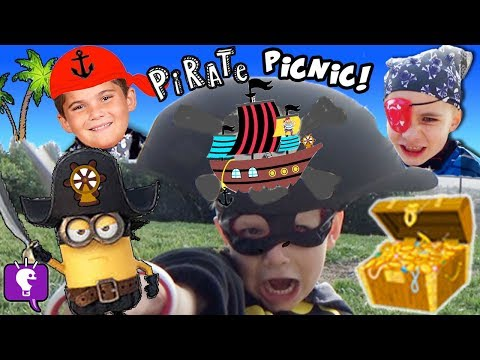 Pirate Picnic with Surprise Toys by HobbyKidsTV