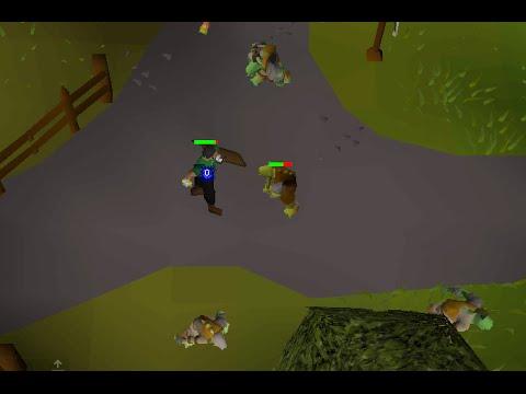 Old School Runescape- Three ways to kill a goblin