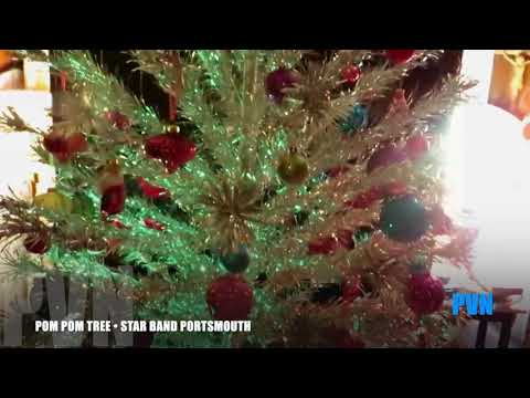 STAR BAND POM POM TREE