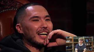 """В интернет - шоу """"GazLive"""" Скриптонит рассказал Басте о казахской песне"""